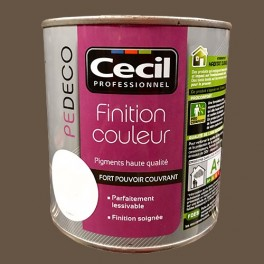 CECIL PE DECO Finition Couleur Moka Satin