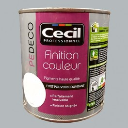 CECIL PE DECO Finition Couleur Gris galet Satin