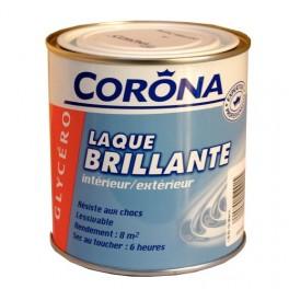 Corona Laque Brillante Glycéro Blanc 0 5l