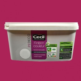 CECIL PE DECO Finition Couleur Framboise Satin