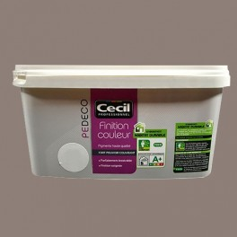 CECIL PE DECO Finition Couleur Taupe Satin