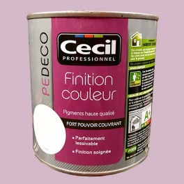 CECIL PE DECO Finition Couleur Parme Satin