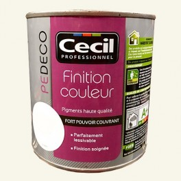 CECIL PE DECO Finition Couleur Kaolin Satin