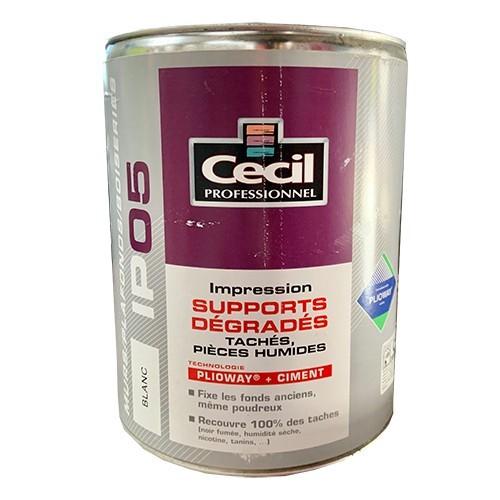 CECIL IP05 Impression Supports dégradés