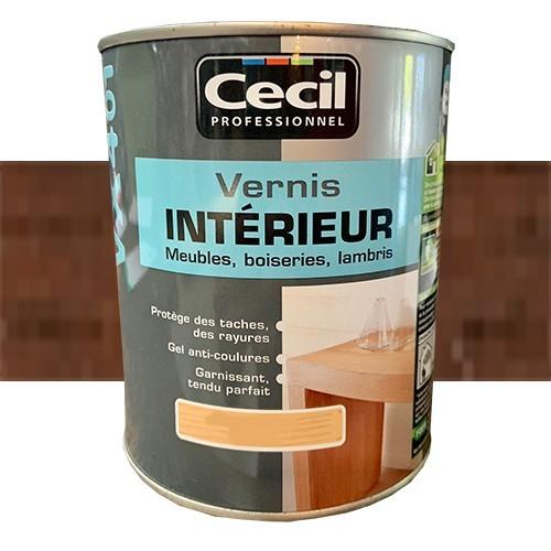 CECIL VX401 Vernis Intérieur Chêne foncé