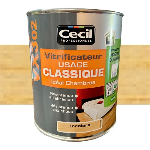 CECIL VX302 Vitrificateur Incolore Mat