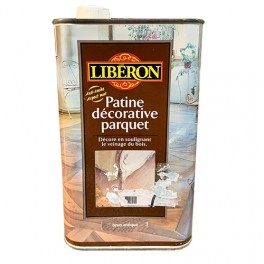 LIBÉRON Patine décorative parquet 1L brun antique