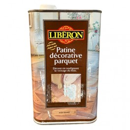 LIBÉRON Patine décorative parquet 1L Miel blond