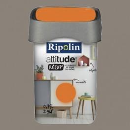 RIPOLIN Peinture Attitude Récup' Argile satin 0,75L
