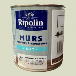 RIPOLIN Peinture Murs, Boiseries & Radiateurs Vert absinthe Mat