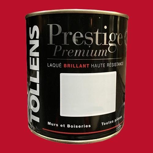 TOLLENS Peinture Prestige Premium Laqué Brillant Rouge Highlands