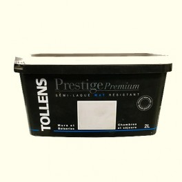 TOLLENS Peinture Prestige Premium Mat Semi-laqué Blanc cassé