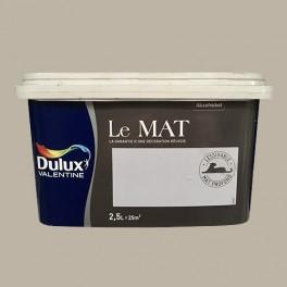 Peinture DULUX VALENTINE Le Mat Grès Naturel 2,5L