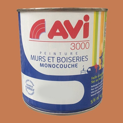 AVI 3000 Peinture Acrylique Murs & Boiseries Terre cuite