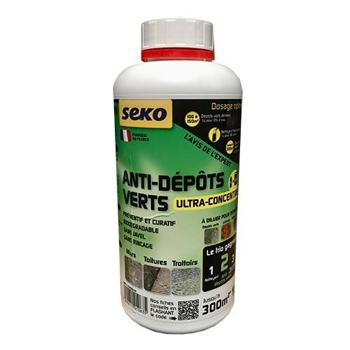 SEKO Anti-Dépôts Verts Ultra-Concentré