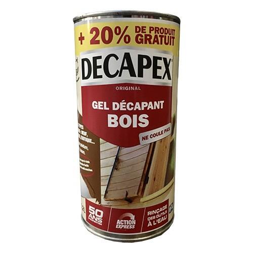 DECAPEX Gel décapant bois