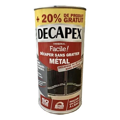 DECAPEX Facile! Décaper sans gratter Métal