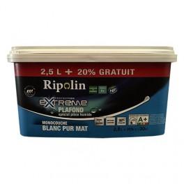 Ripolin Peinture Protection Extrême Plafond Spécial Pièce Humide Blanc Mat