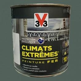 """V33 Peinture Fer """"Climats Extrêmes"""" Gris cendre Brillant"""