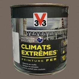 "V33 Peinture Fer ""Climats Extrêmes"" Taupe Brillant"