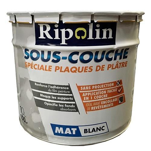 RIPOLIN Sous-couche spéciale plaques de plâtres 10L