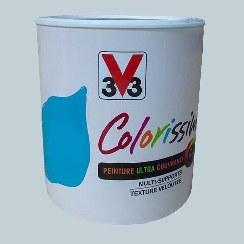 Peinture V33 Colorissim Satin Gris coton n°76