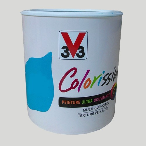 Peinture V33 Colorissim Satin Gris angora n°79