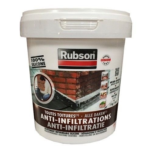 RUBSON Anti-Infiltrations 100% silicone Blanc