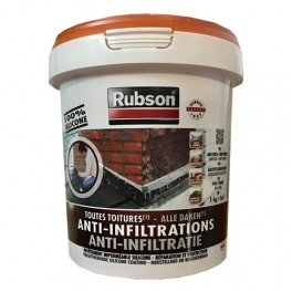 RUBSON Anti-Infiltrations 100% silicone Terre cuite