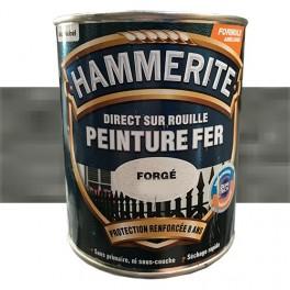 Peinture Fer Hammerite Direct sur Rouille Gris Zinc Forgé
