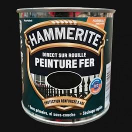 Peinture Fer Hammerite Direct sur Rouille Noir MAT Ferronnerie