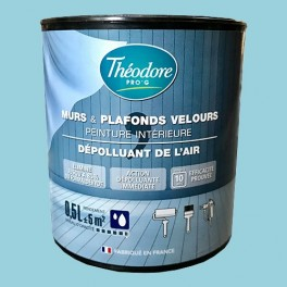 Théodore Pro'G Peinture Dépolluante Azul