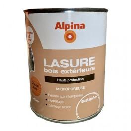 ALPINA Lasure Bois Extérieurs 4ans Haute Protection Chêne doré