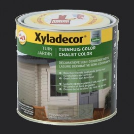 XYLADECOR Chalet Color Charbon de bois