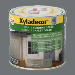 XYLADECOR Chalet Color Gris Bouleau