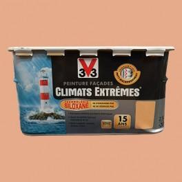Peinture V33 Façade Climats Extrêmes Ocre du roussillon