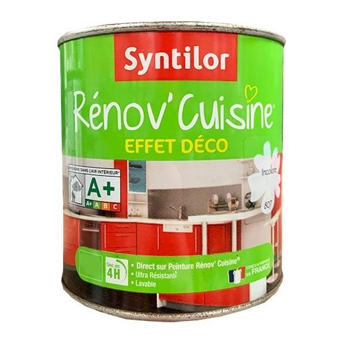 SYNTILOR Renov' Cuisine Effet Déco Incolore Mat
