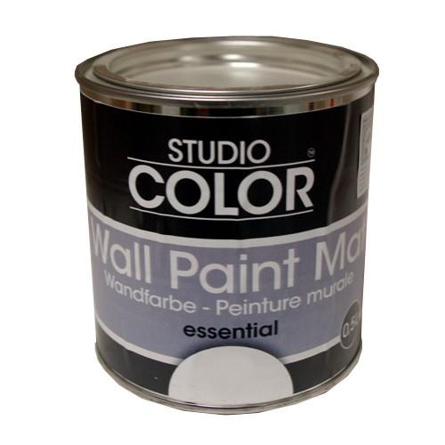 peinture studio color wall paint mat essentiel blanc pas cher en ligne. Black Bedroom Furniture Sets. Home Design Ideas