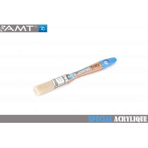 AMT Pinceau Plat pour peinture acrylique