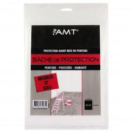 AMT Bâche de protection 4X5M Meubles et Sols