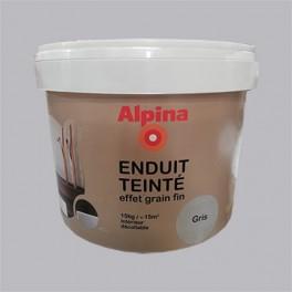 ALPINA Enduit Teinté effet grain fin Gris