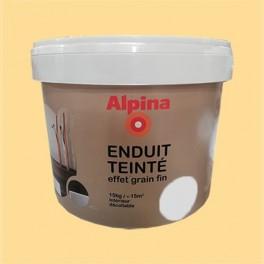 ALPINA Enduit Teinté effet grain fin Paille