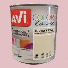 AVI Colore la Vie Peinture Toutes pièces Rose bonbon