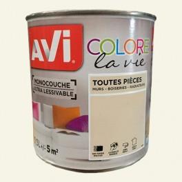 AVI Colore la Vie Peinture Toutes pièces Crème fouettée