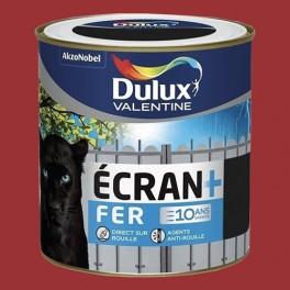 DULUX VALENTINE Ecran+ Fer Rouge agricole