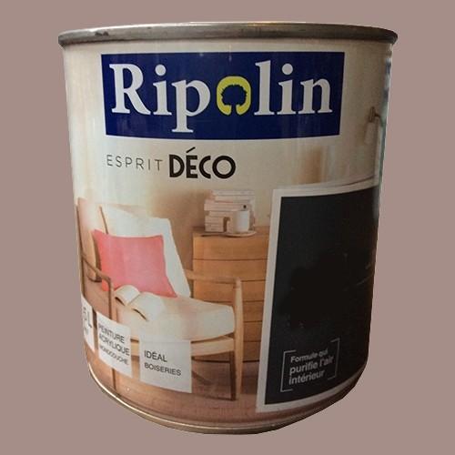 "RIPOLIN Peinture Acrylique ""Esprit Déco"" Taupe satin"