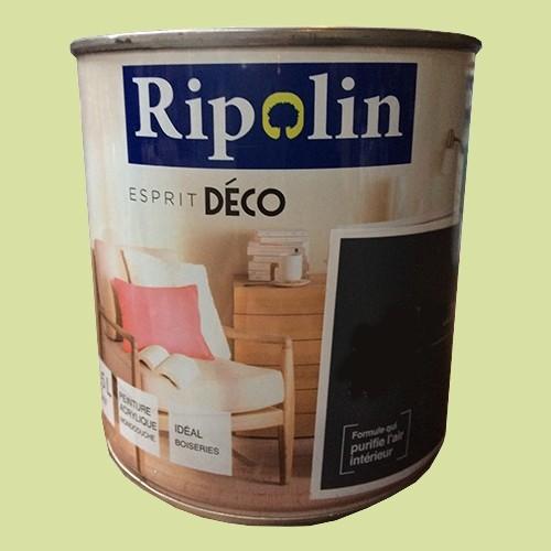 """RIPOLIN Peinture Acrylique """"Esprit Déco"""" Vert essia satin"""