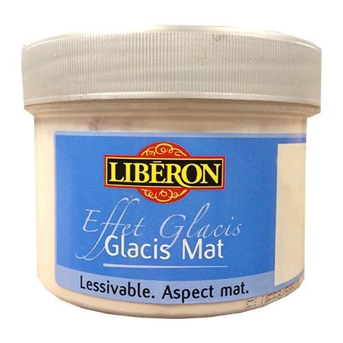 LIBÉRON Effet Glacis Mat Blanc opale