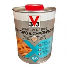 V33 Traitement Bois Poutres & Charpentes
