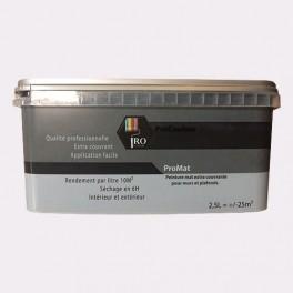 PRO COULEURS Peinture acrylique mat 2,5L Gris ciment